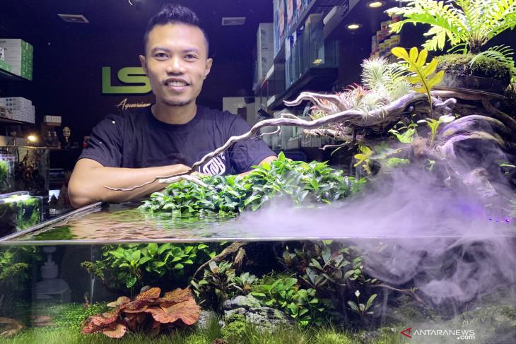 Cerita bisnis aquascape yang bertahan diterpa pandemi