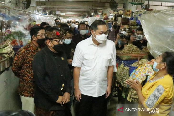 Mendag: Pasar Badung Bali jadi percontohan SOP PeduliLindungi