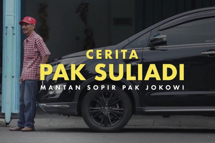 Jokowi bagikan video kisah mantan sopir melalui media sosial