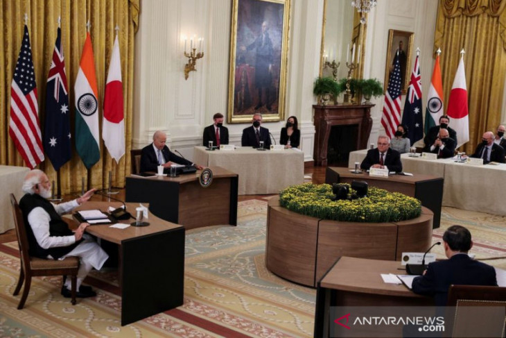 AS, Jepang, India, Australia membahas peningkatan kerja sama