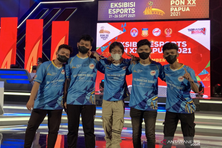 Kalimantan Barat raih emas Mobile Legends eksibisi esport PON Papua