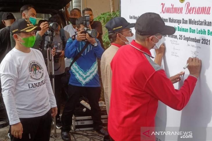 Aksi pertama gerakan Balingai memperoleh respon antusias