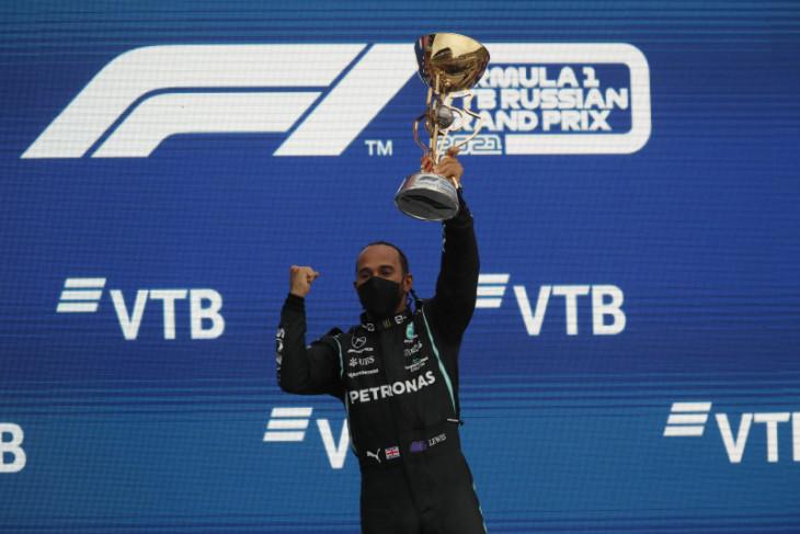 Formula 1: Juarai GP Rusia, Hamilton klaim kemenangan ke-100