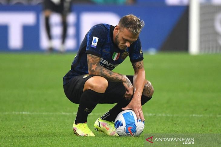 Liga Italia: Gagal manfaatkan penalti, Inter cuma main imbang lawan Atalanta