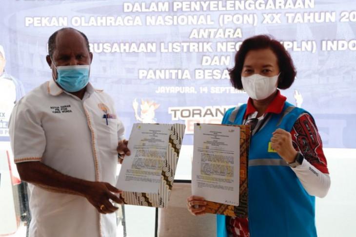 PLN kucurkan  dana Rp313 miliar dukung penyelenggaraan PON XX Papua