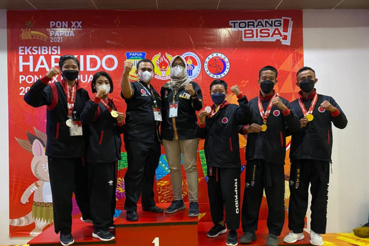 Lampung leads medal tally in hapkido martial art