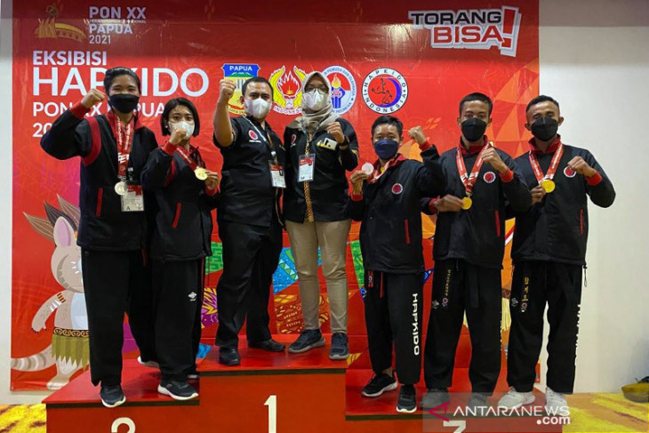 PON Papua -- Lampung leads medal tally in hapkido martial art