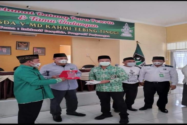 Muhamad Fadli kembali terpilih sebagai Ketua Kahmi Tebing Tinggi