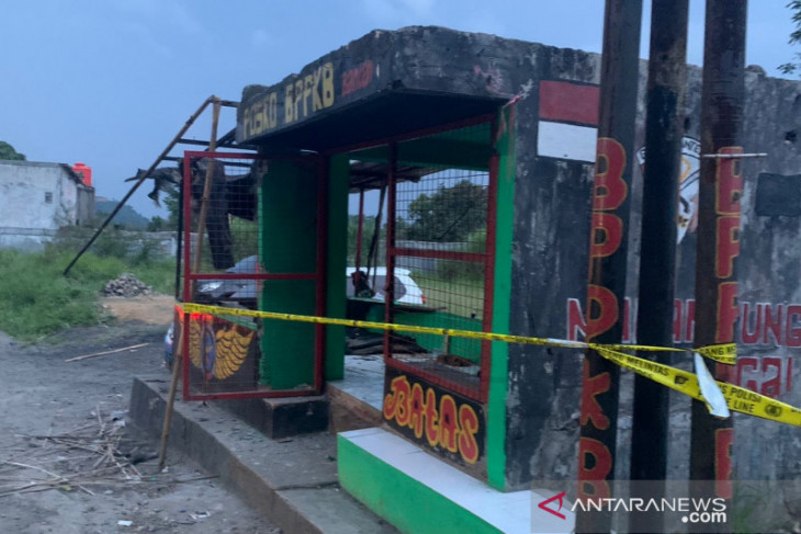 Polisi amankan puluhan senjata tajam dalam bentrokan di batas Cianjur-Sukabumi