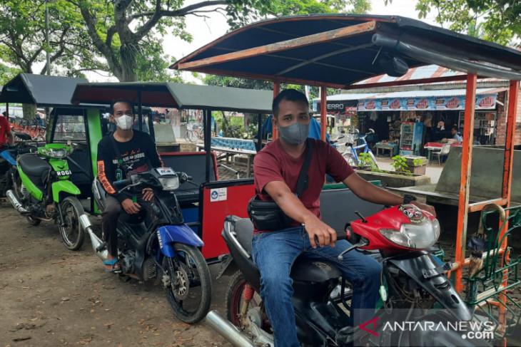 Becak wisata di Candi Muaro Jambi tingkatkan pelayanan