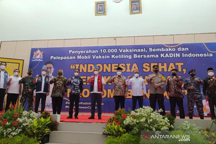 Kadin Indonesia sediakan 10 ribu dosis vaksin sinopharm di Bengkulu