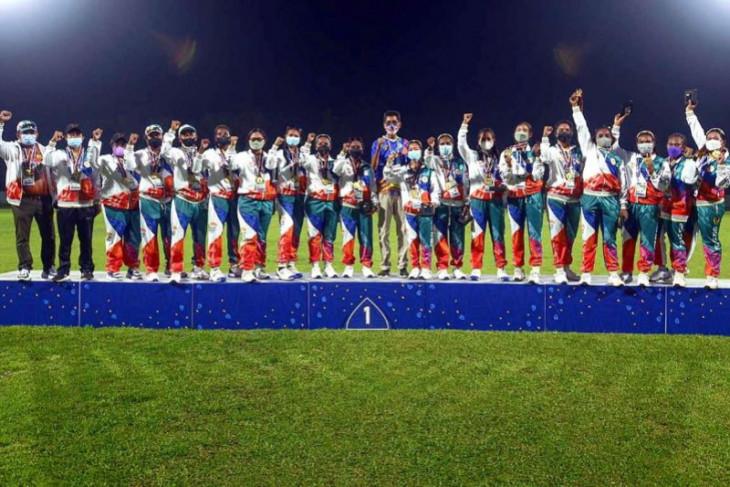 PON Papua - Papua dan Bali berbagi emas di Kriket Super Sixies