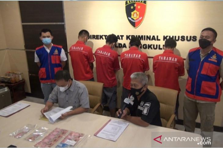 Polisi Bengkulu OTT empat perangkat desa diduga pungli BLT