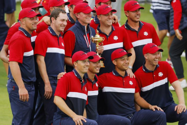 Taklukkan Eropa,  AS rampas kembali Piala Ryder