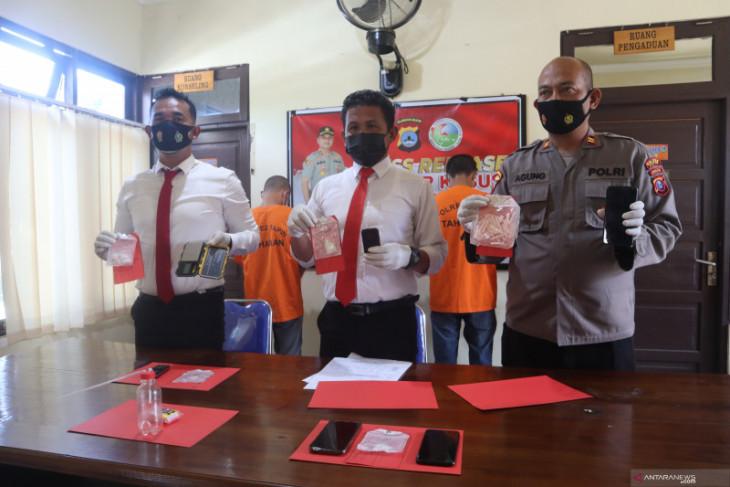 Delapan bandar sabu diringkus Sat Narkoba Polres Tapin