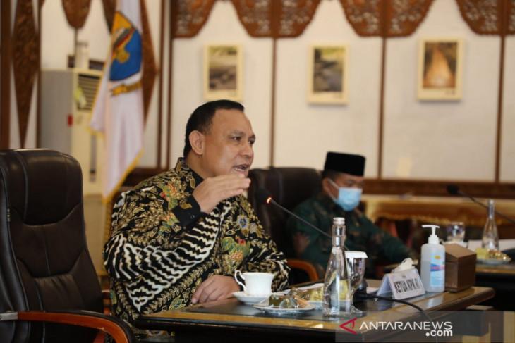 Ketua KPK mengingatkan kepala daerah di Jambi tidak korupsi