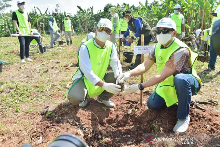 Pemkab Bogor gandeng Yayasan Korindo bangun hutan kota di Pondok Rajeg
