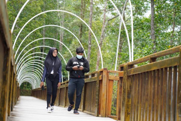 Eco Wisata Mangrove Mimika perketat prokes bagi wisatawan