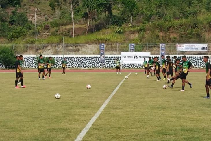 Tim sepak bola Sumut siap hadapi  Jateng di laga perdana grup B