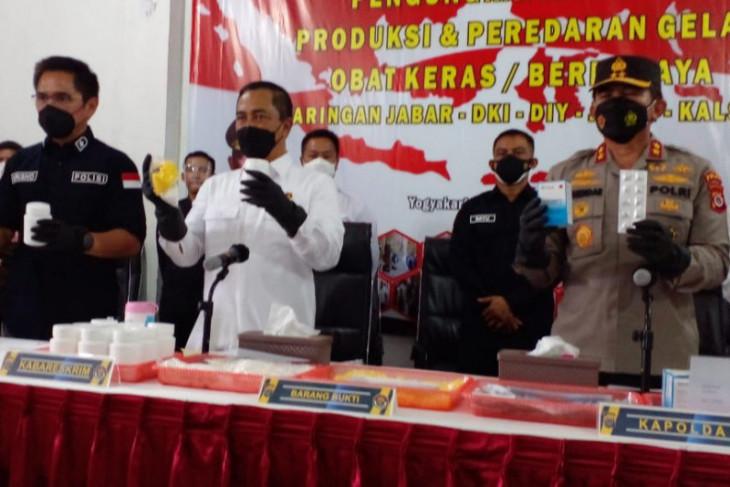 Pabrik obat keras ilegal di DIY beromzet Rp2 miliarhari digerebek begini kronologinya