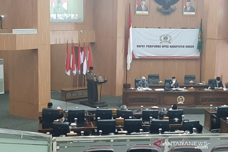 DPRD dan Pemkab Bogor mulai pembahasan RAPBD Perubahan 2021