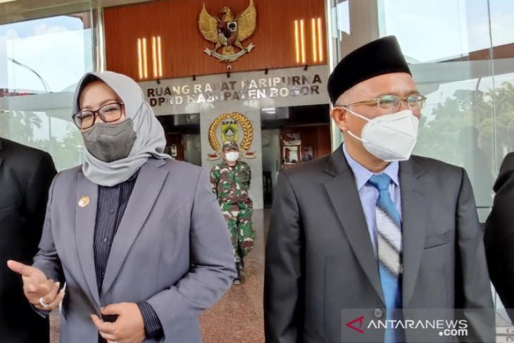 Bupati Bogor minta legislatif kompak atasi defisit Rp794 miliar pada RAPBD perubahan 2021