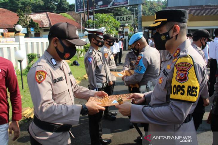 Ini 28 personel Polres Sukabumi berprestasi