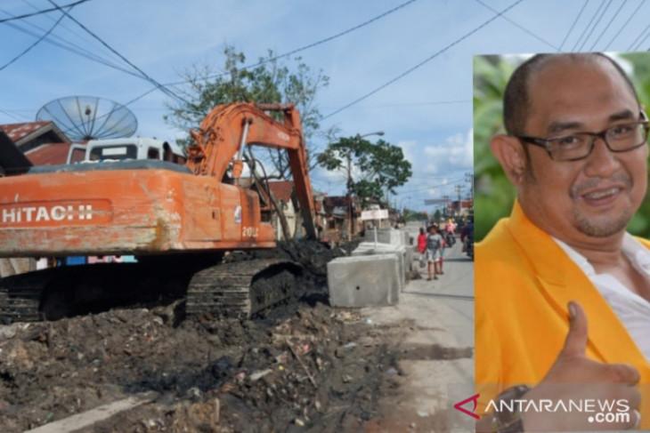 Fraksi Golkar DPRD Tanjungbalai apresiasi Mahyaruddin Salim perjuangkan pembangunan