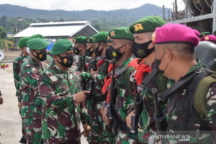 130 personel gabungan dikirim amankan pulau terluar di Maluku tegakkan NKRI