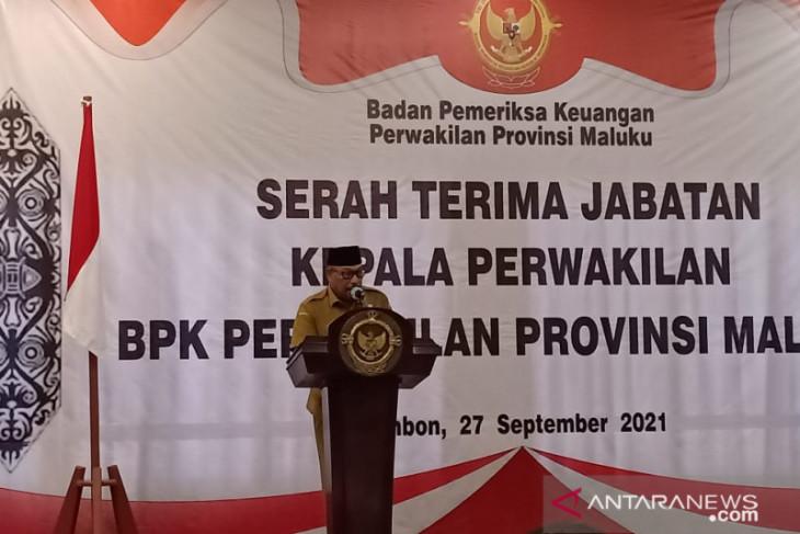 Gubernur Maluku apresiasi kinerja BPK wujudkan pemerintahan bersih intensifkan kinerja