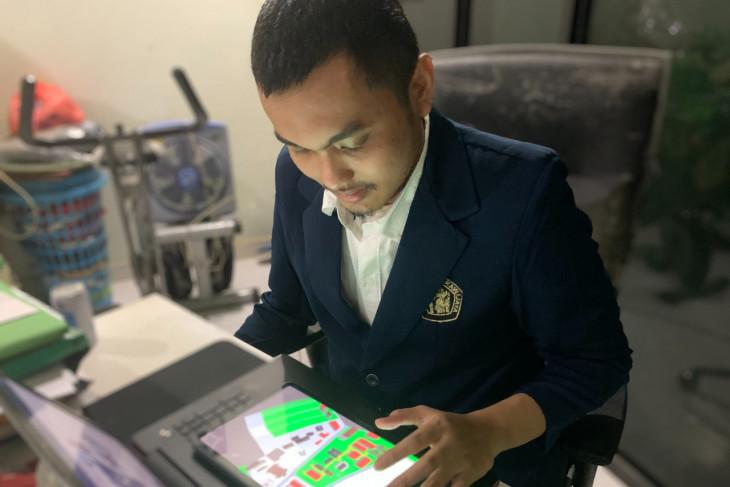 Brawijaya University student designs digital map for visually impaired