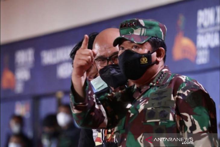 PON Papua - Panglima TNI dan Kapolri tinjau pengamanan jelang pembukaan