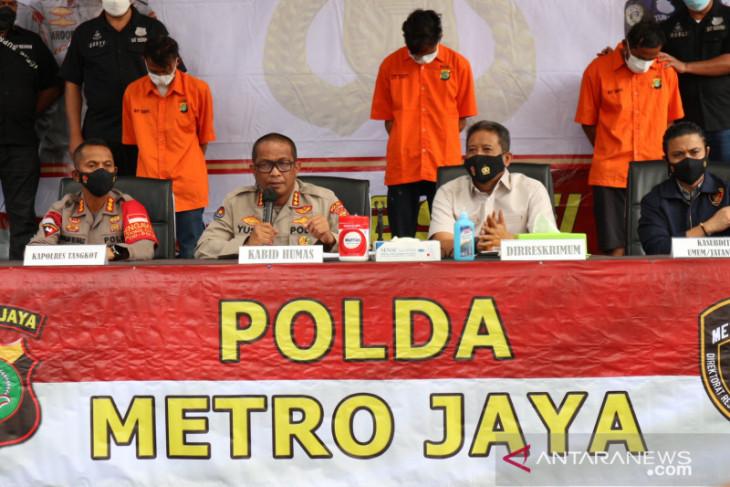 Polisi tangkap tiga pelaku penembakan di Tangerang