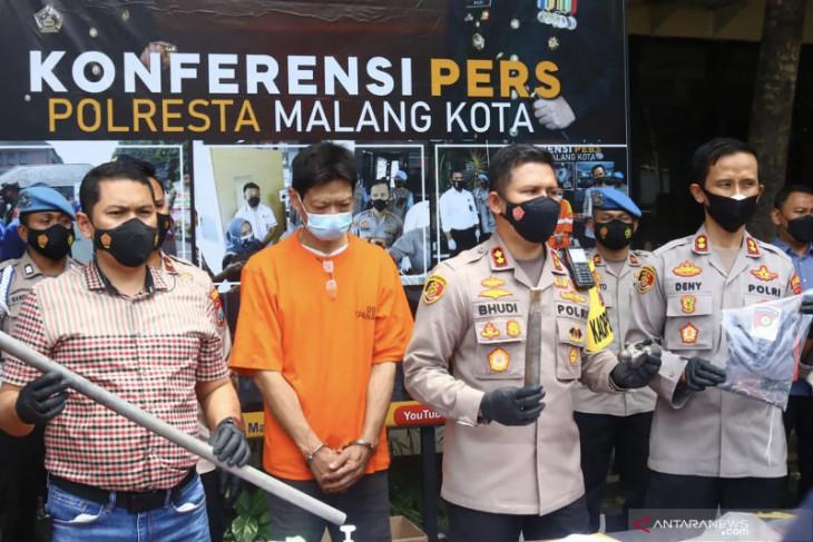 Pria di Malang mengaku tega bunuh istri sirinya karena merasa sakit hati