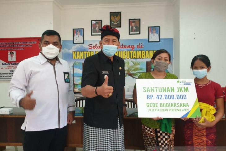 BPJAMSOSTEK Buleleng santuni korban pengeroyokan di Denpasar