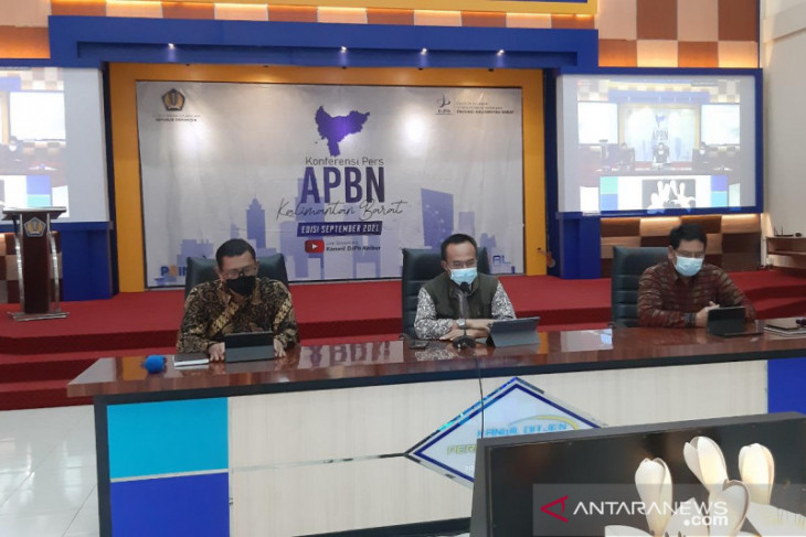 Realisasi APBN di Kalbar hingga Agustus 2021 baru 53,02 persen