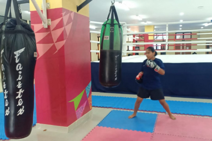 PON Papua - Atlet Muaythai Kalbar siap
