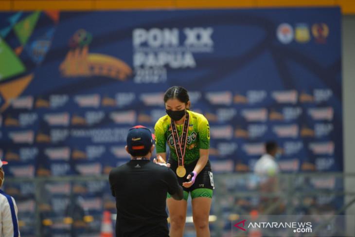 PON Papua: Medali emas sepatu roda ITT 200 meter disapu atlet tuan rumah