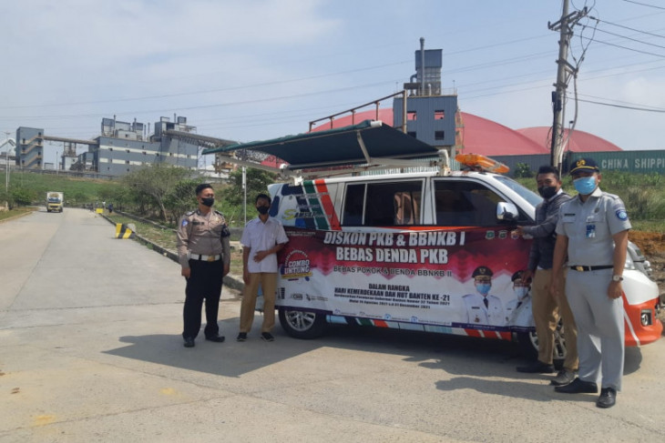 Mumpung ada  bulan bebas denda, segera bayar pajak di Samsat keliling Cemindo Gemilang