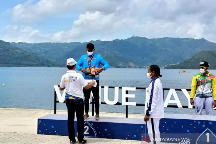 Kayak single putra Jambi meraih perak di PON XX Papua