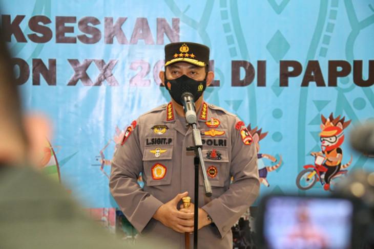 Kapolri pastikan kesiapan pengamanan PON Papua