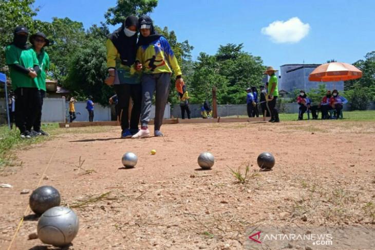 Cabang Petanque baru berkembang atletnya sudah masuki pra PON