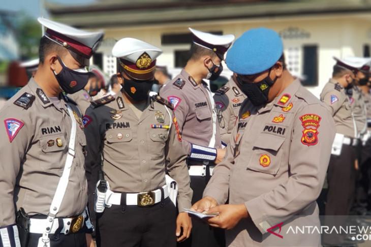 Propam Polres Sukabumi Kota gelar penegakan dan penertiban disiplin pada polisi