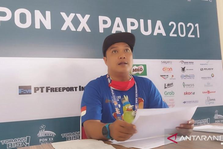 Papua raih medali emas nomor speed campuran panjat tebing PON