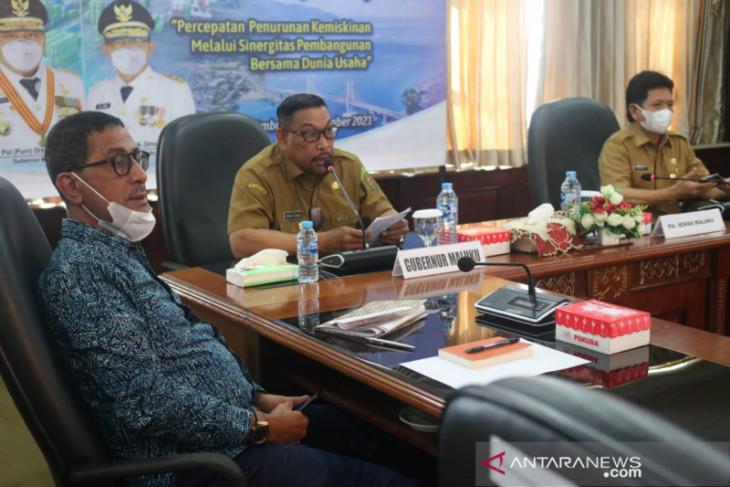 Gubernur minta dunia usaha bantu percepatan pembangunan di Maluku tanggung jawab sosial