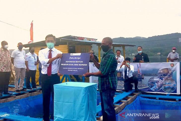 BI Maluku bantu kelompok budidaya keramba di Ambon gairahkan perekonomian