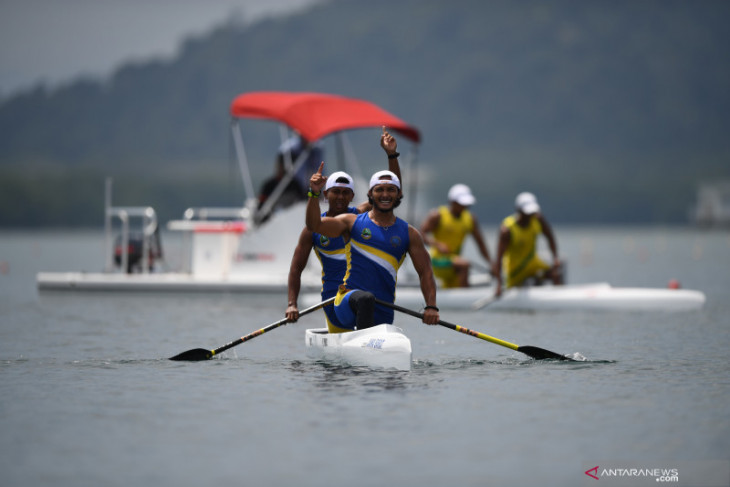 Jabar mulai melejit di cabang dayung, sabet dua emas dari kayak dan canoe