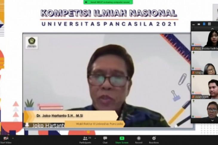Universitas Pancasila gelar kompetisi ilmiah nasional secara virtual