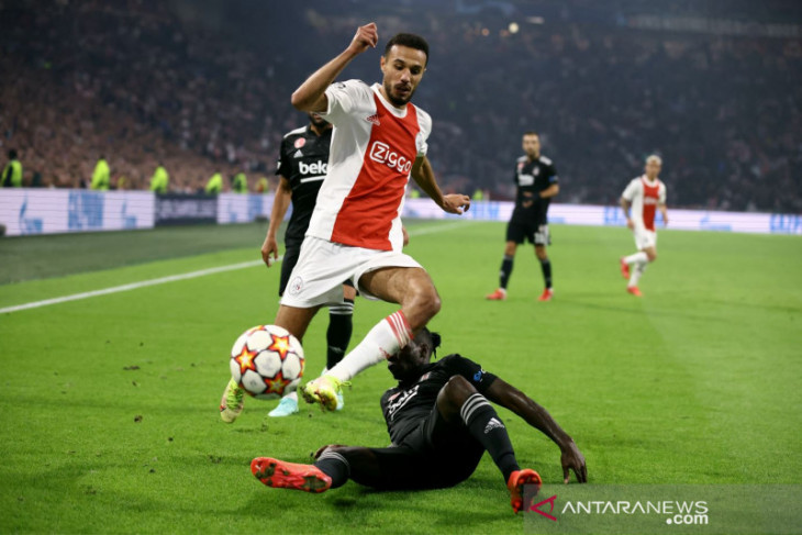 Ajax menang 2-0 atas Besiktas Liga Champions