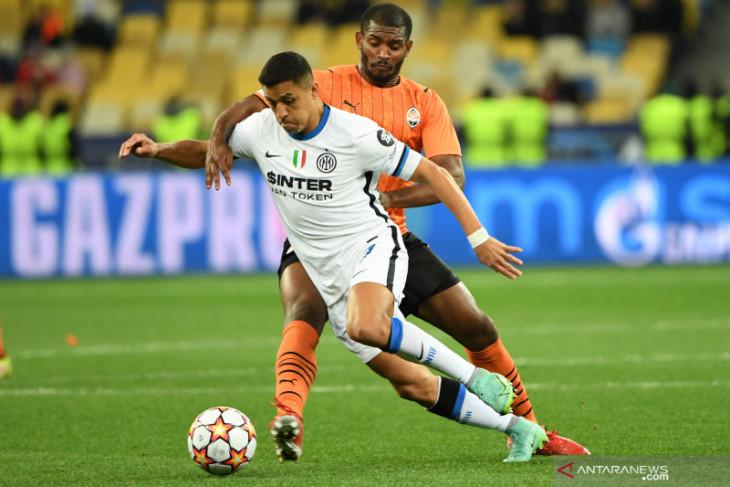 Inter Milan diimbangi tanpa gol oleh Shakhtar Donetsk